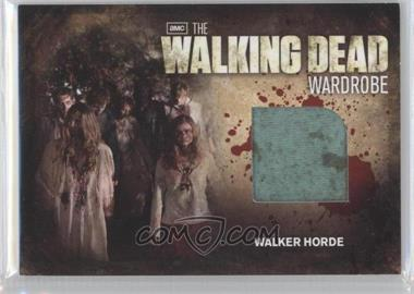 2012 Cryptozoic The Walking Dead Season 2 Wardrobe #M31 - Walker Horde