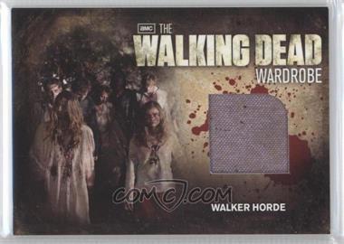 2012 Cryptozoic The Walking Dead Season 2 Wardrobe #M31 - Walker Horde