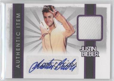 2012 Justin Bieber Collection - Authentic Items - Autographs [Autographed] #4 - Justin Bieber