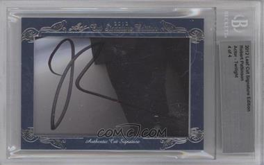 2012 Leaf Cut Signature Edition #ROPA - Robert Pattinson /4 [BGS AUTHENTIC]