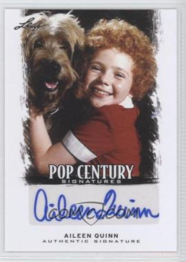 2012 Leaf Pop Century - [Base] #BA-AQ1 - Aileen Quinn