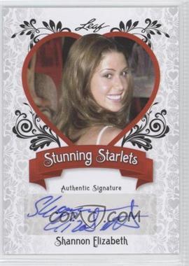 2012 Leaf Pop Century - Stunning Starlets #SS-SE1 - Shannon Elizabeth