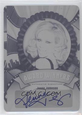 2012 Leaf Pop Century Award Winners Printing Plate Black #AW-JJ1 - Jenna Jameson /1