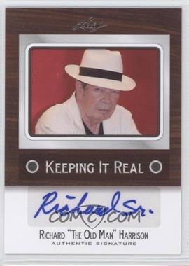 "2012 Leaf Pop Century Keeping it Real #KR-RH1 - Richard ""The Old Man"" Harrison"
