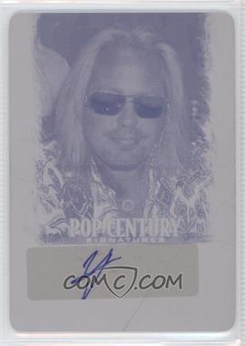 2012 Leaf Pop Century Printing Plate Magenta #BA-VNI - Vince Neil /1