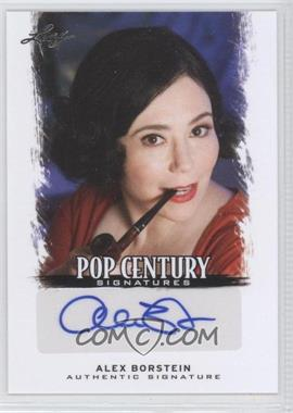 2012 Leaf Pop Century Signatures #BA-AB1 - Alex Borstein
