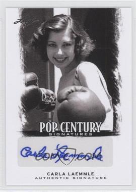 2012 Leaf Pop Century Signatures #BA-CL1 - Carla Laemmle