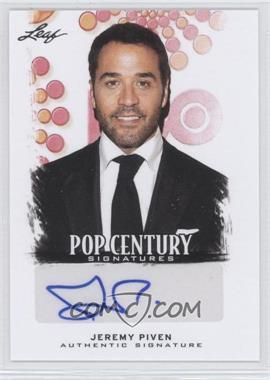 2012 Leaf Pop Century Signatures #BA-JP2 - Jeremy Piven