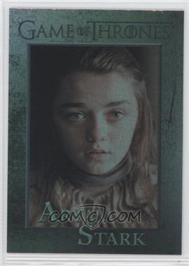 2012 Rittenhouse Game of Thrones Season 1 - [Base] - Foil #32 - Arya Stark