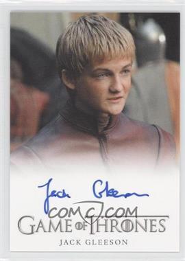 2012 Rittenhouse Game of Thrones Season 1 - Full-Bleed Autographs #JAGL - Jack Gleeson as Prince Joffrey Baratheon