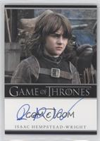 Isaac Hempstead-Wright as Bran Stark