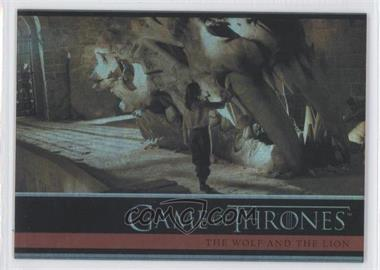 2012 Rittenhouse Game of Thrones Season 1 Foil #14 - The Wolf and the Lion