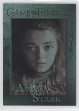 2012 Rittenhouse Game of Thrones Season 1 Foil #32 - Arya Stark