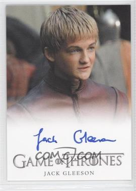 2012 Rittenhouse Game of Thrones Season 1 Full-Bleed Autographs #JAGL - Jack Gleeson as Prince Joffrey Baratheon