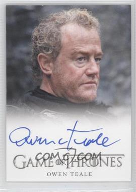 2012 Rittenhouse Game of Thrones Season 1 Full Bleed Autographs #N/A - [Missing]
