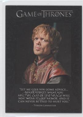 2012 Rittenhouse Game of Thrones Season 1 The Quotable Game of Thrones #Q2 - [Missing]