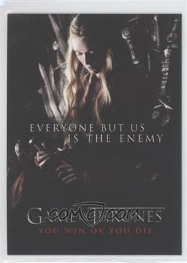 2012 Rittenhouse Game of Thrones Season 1 You Win or You Die #SP2 - Everyone but Us Is the Enemy