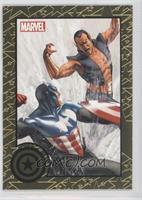 Captain America vs Namor /75