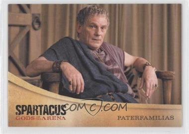 2012 Rittenhouse Spartacus Premium Packs Gods of the Arena #G7 - [Missing]