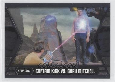 2012 Rittenhouse Star Trek The Original Series: Heroes & Villians [???] #GB2 - Captain Kirk vs. Gary Mitchell