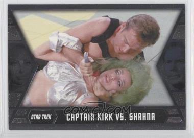 2012 Rittenhouse Star Trek The Original Series: Heroes & Villians [???] #GB5 - Captain Kirk vs. Shahna