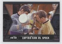 Captain Kirk vs. Spock