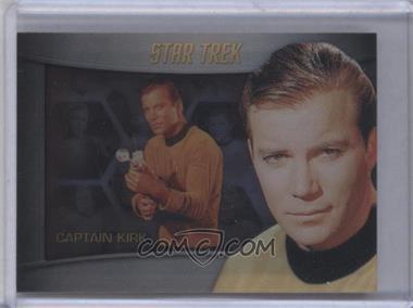 2012 Rittenhouse Star Trek The Original Series: Heroes & Villians Bridge Crew Shadowbox #S1 - William Shatner (as Captain Kirk)