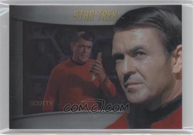 2012 Rittenhouse Star Trek The Original Series: Heroes & Villians Bridge Crew Shadowbox #S4 - James Doohan, Chief Engineer Scott (as Chief Engineer Scott)