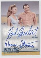 Barbara Bouchet as Kelinda, Warren Stevens as Rojan