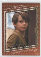 Max Charles as Young Peter Parker