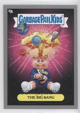 2012 Topps Garbage Pail Kids Brand New Series 1 - Adam Bomb Through History - Silver #1 - The Big Bang