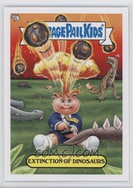 2012 Topps Garbage Pail Kids Brand New Series 1 - Adam Bomb Through History #2 - Extinction of Dinosaurs