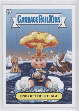2012 Topps Garbage Pail Kids Brand New Series 1 - Adam Bomb Through History #3 - End of The Ice Age