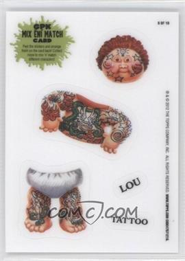 2012 Topps Garbage Pail Kids Brand New Series 1 - Mix 'N' Match #6 - Lou Tattoo