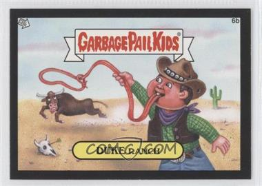 2012 Topps Garbage Pail Kids Brand New Series 1 [???] #6b - Duke Ranch