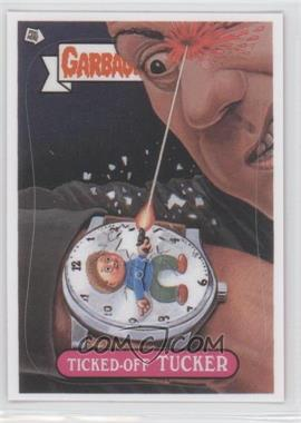 2012 Topps Garbage Pail Kids Brand New Series 1 Abrams ComicArts Bonus Stickers #2 - Ticked-Off Tucker