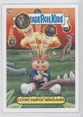 2012 Topps Garbage Pail Kids Brand New Series 1 Adam Bomb Through History #2 - Extinction of Dinosaurs