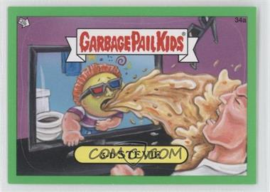 2012 Topps Garbage Pail Kids Brand New Series 1 Green #34a - 3-D Stevie