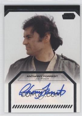 2012 Topps Star Wars Galactic Files - Autographs #ANFO - Anthony Forrest as Fixer