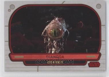 2012 Topps Star Wars Galactic Files - [Base] - Red #309 - Dianoga /35