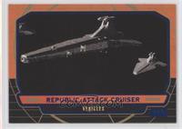 Republic Attack Cruiser /350
