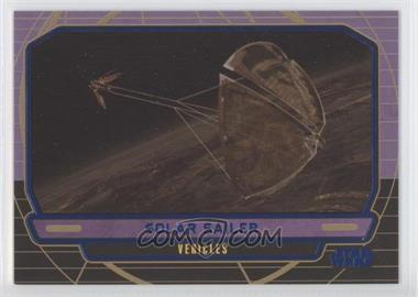 2012 Topps Star Wars Galactic Files Blue #255 - Solar Sailer /350