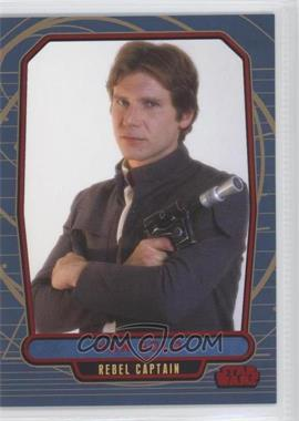 2012 Topps Star Wars Galactic Files Red #124 - Han Solo /35