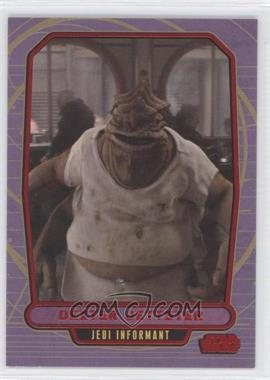 2012 Topps Star Wars Galactic Files Red #50 - Dexter Jettster /35