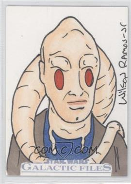 2012 Topps Star Wars Galactic Files Sketch #1 - [Missing] /1