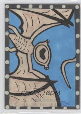 2012 Topps Star Wars Galactic Files Sketch #DVMY - Denise Vasquez (Mynock) /1