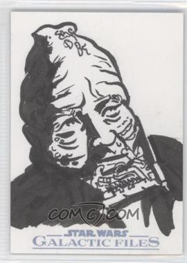 2012 Topps Star Wars Galactic Files Sketch #N/A - [Missing] /1