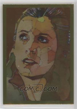 2012 Topps Star Wars Galaxy Series 7 - Foil - Gold #8 - Princess Leia Organa
