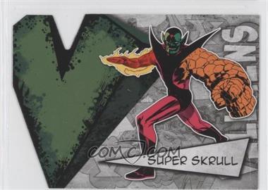 2012 Upper Deck Marvel Beginnings Series 3 - Villains Die-Cuts #V-41 - Super Skrull