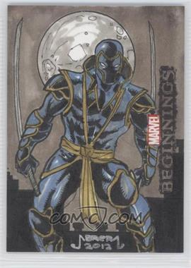 2012 Upper Deck Marvel Beginnings Series 3 Sketch Cards #1 - [Missing] /1